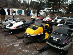 A great variety of beautiful sleds...